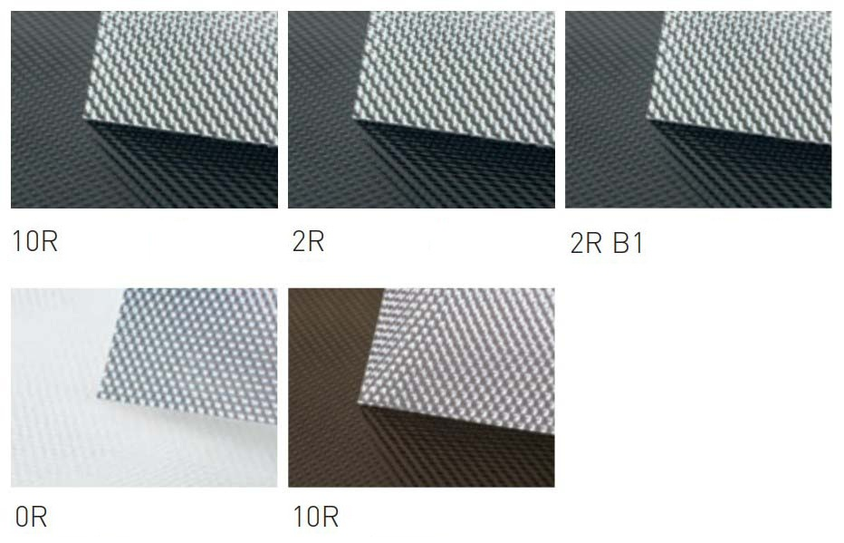 Прозрачные свето- и жароотражающие ролеты (Glasgard)