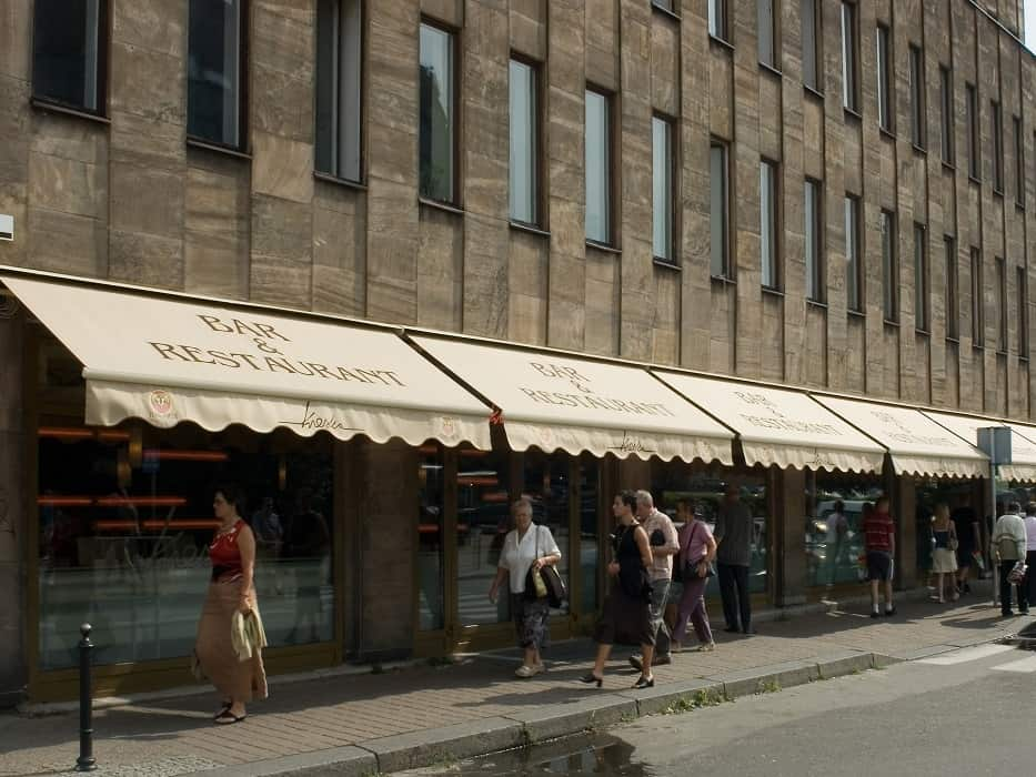 Bar restaurant cheaper sale awning