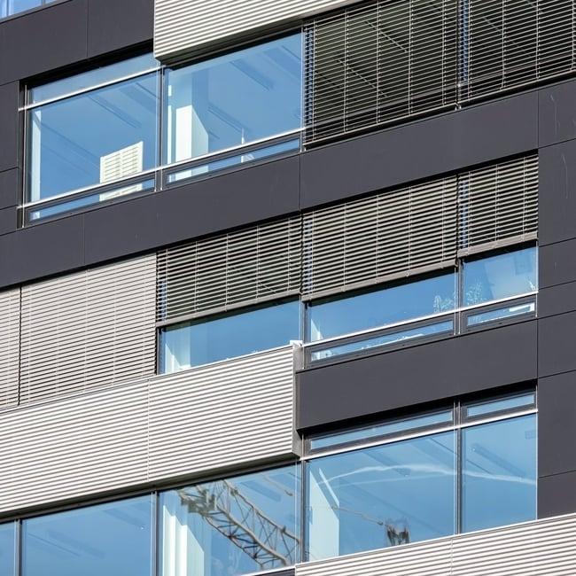 Fasades ara žalūzijas C 80 akcijas Riga