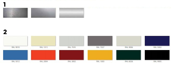 High speed gate color palette