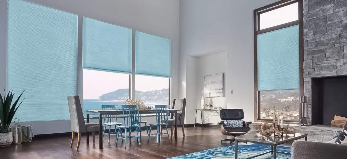 Living room promotion cheap pleated blinds
