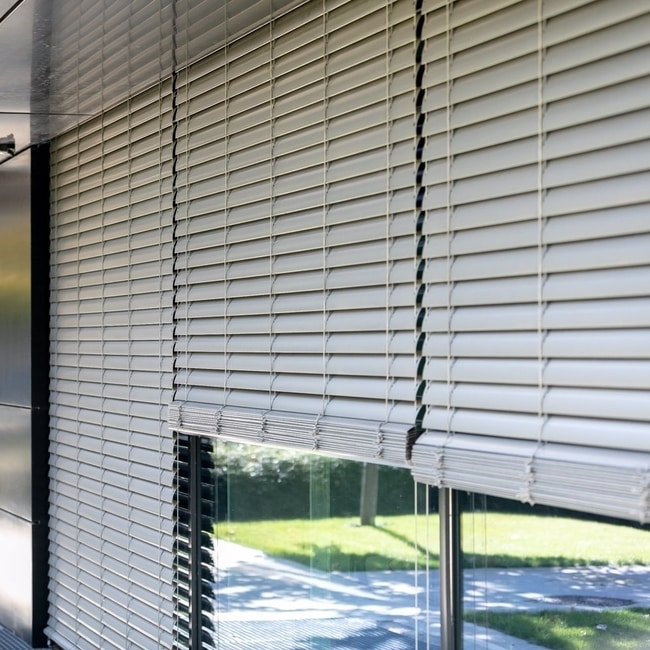 Outdoor blinds home panoramic window terrace