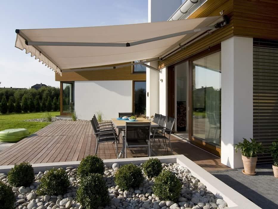 Terrace garden house awning sales
