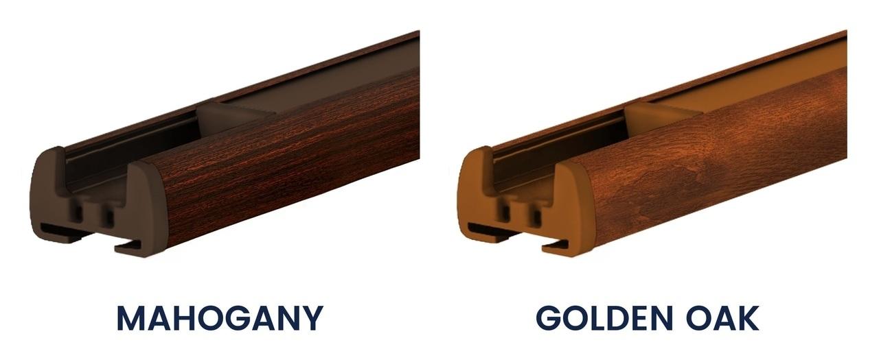 Wooden profile colours blinds