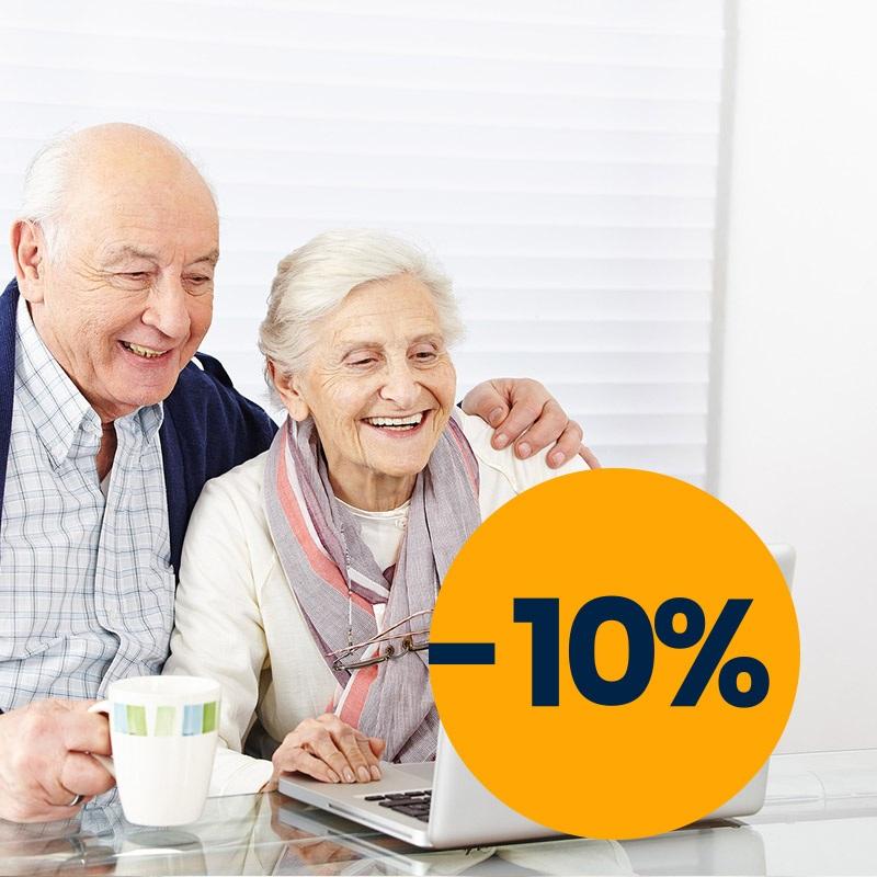 кампания для пожилых людей