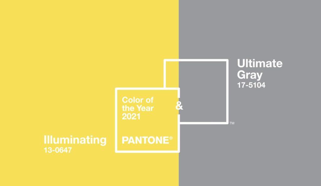 Pantone krasas dzeltens peleks